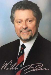 Autogrammkarte aus der Zeit als Oberbürgermeister